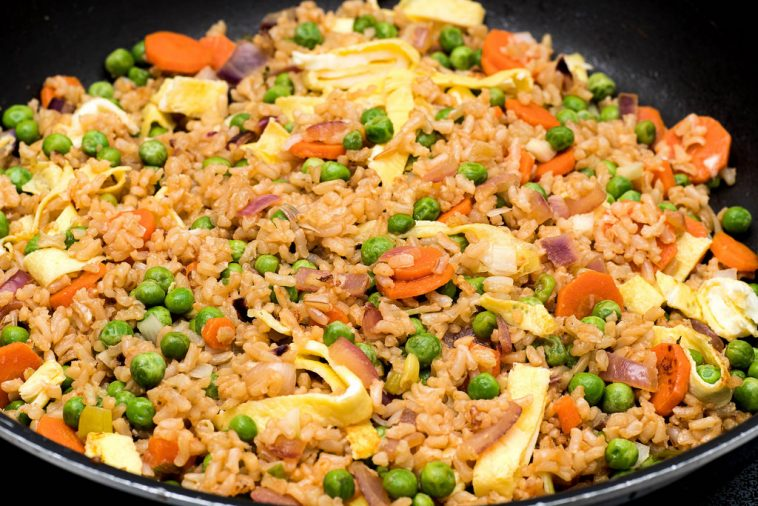 Easy Japanese Style Fried Rice Tasty Recipes
