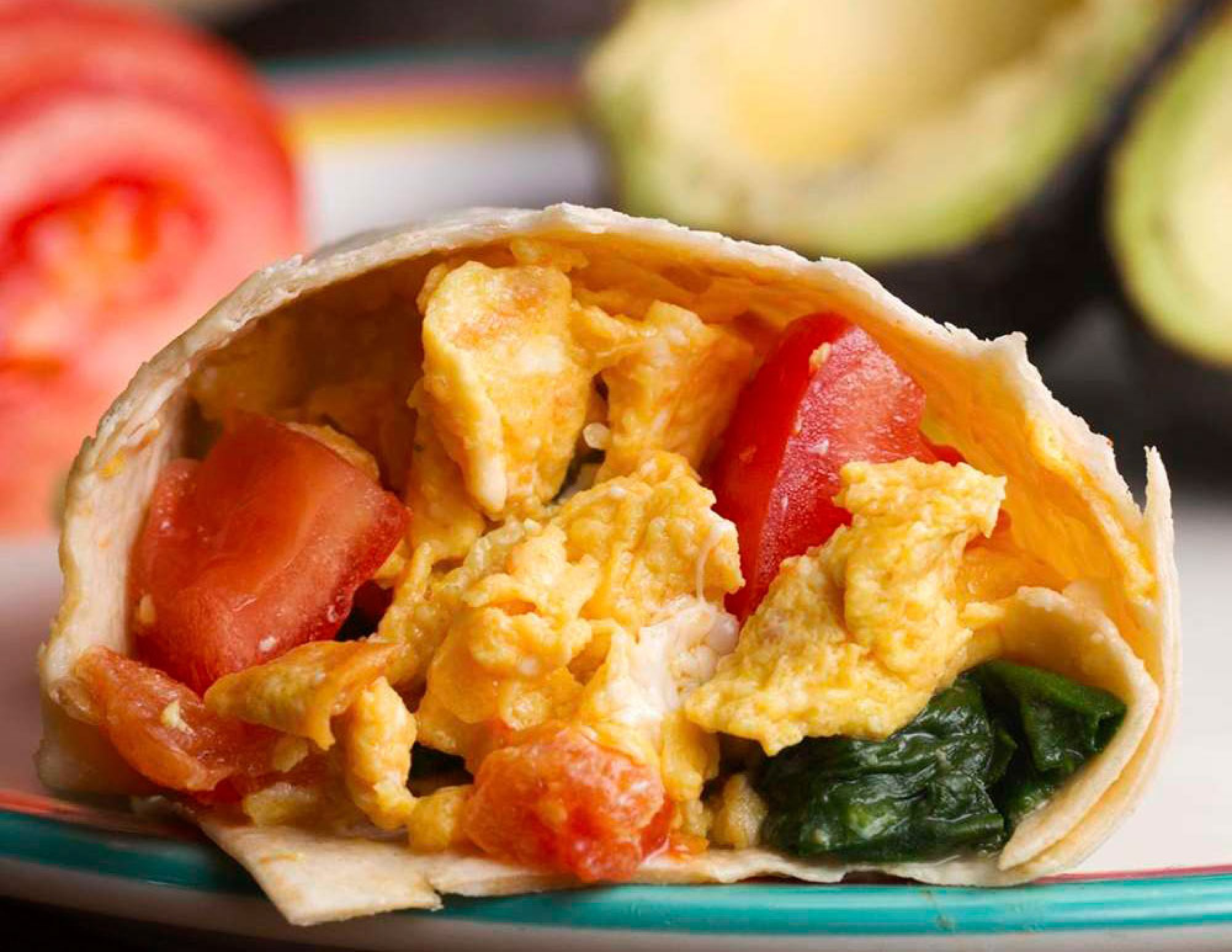 Freezer prep Breakfast Burritos