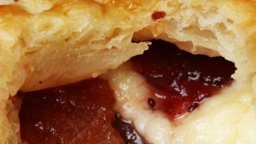 Brie Bacon And Cranberry Mini Pies