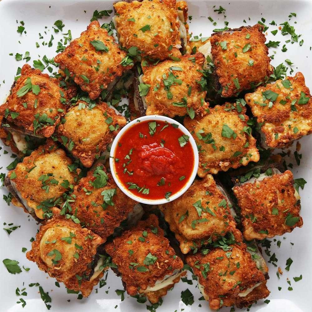 Fried Ravioli Sliders Tasty Recipes