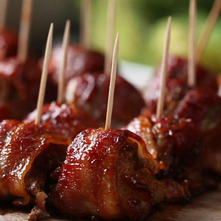 BBQ Bacon Ice Tray Meatballs 4