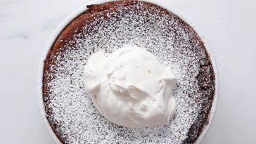 Giant Chocolate Soufflé